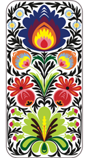 Iphone 5 Cover Akryl - weiss